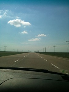 On the road